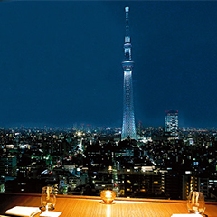 Enjoy a One-of-a-kind View of TOKYO SKYTREE®